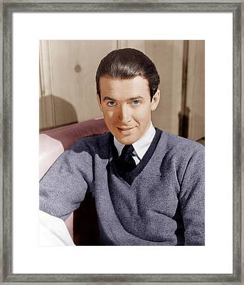 James Stewart, Ca. 1941 Framed Print by Everett