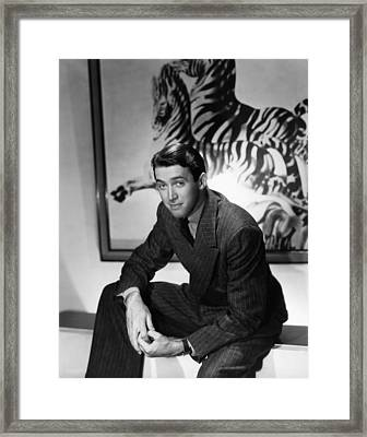 James Stewart, Ca. Mid-late 1930s Framed Print by Everett