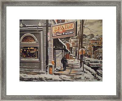 James Street Restaurant  Framed Print