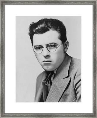 James T. Farrell 1904-1979 Created Framed Print by Everett