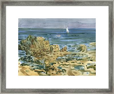 James's View Framed Print by Donald Maier