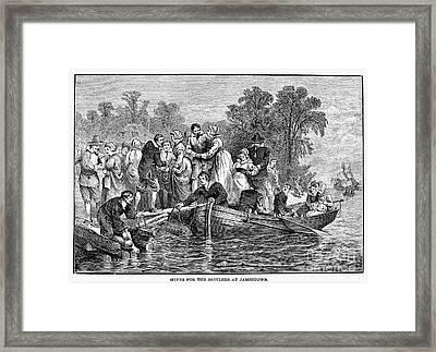 Jamestown: Women Framed Print by Granger