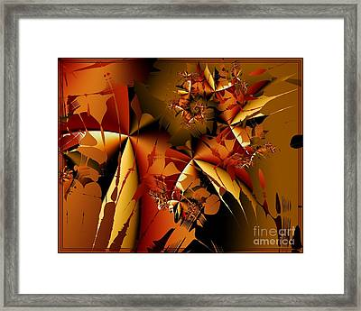Jamming In Autumn Framed Print by Michelle H