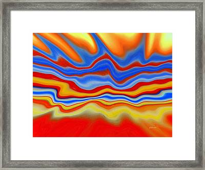 Jamming The Airwaves Framed Print