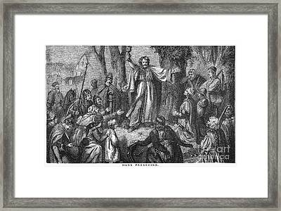 Jan Hus (c1369-1415) Framed Print