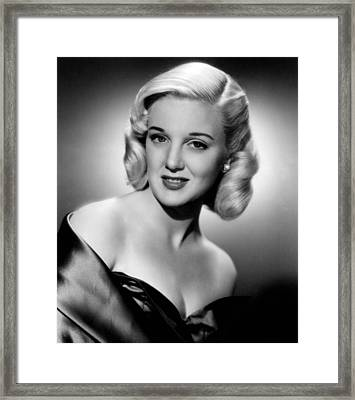 Jan Sterling, 1950 Framed Print by Everett