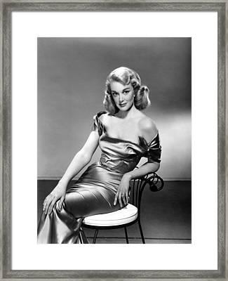 Jan Sterling, 1950s Framed Print by Everett