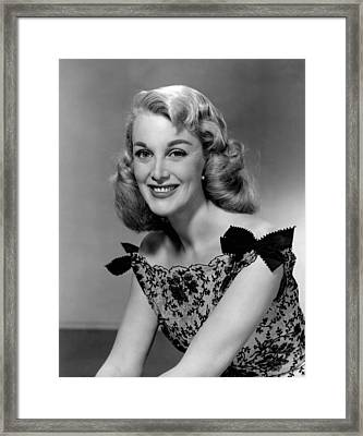 Jan Sterling, 1958 Framed Print by Everett
