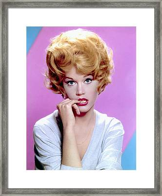 Jane Fonda, C. Early 1960s Framed Print by Everett