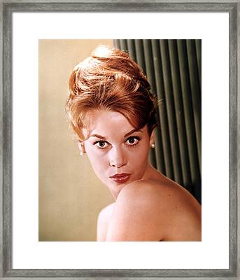 Jane Fonda, Ca. Early 1960s Framed Print by Everett