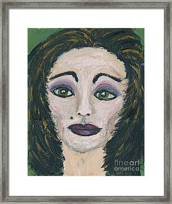 Jane Not Plain Framed Print