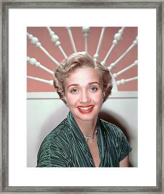 Jane Powell, 1950s Framed Print by Everett