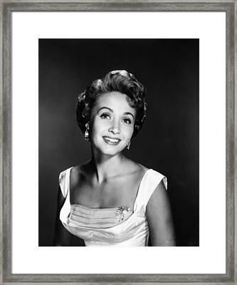 Jane Powell, Ca. 1950s Framed Print by Everett