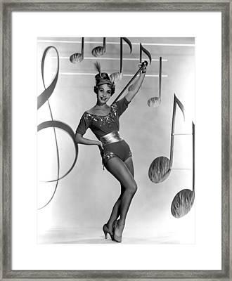 Jane Powell, Early 1950s Framed Print