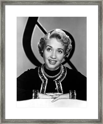 Jane Powell, Mgm, Early 1950s Framed Print by Everett