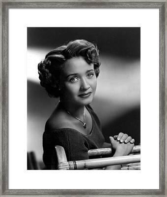 Jane Powell, Mgm, Late 1940s Framed Print
