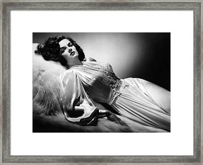 Jane Russell, Ca. 1942 Framed Print by Everett