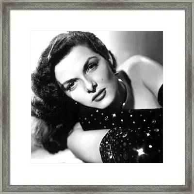 Jane Russell, Ca. Late 1940s Framed Print by Everett