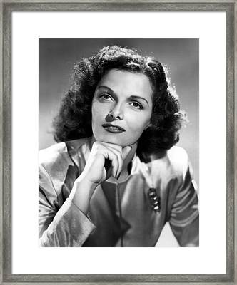 Jane Russell, Portrait Circa 1947 Framed Print by Everett