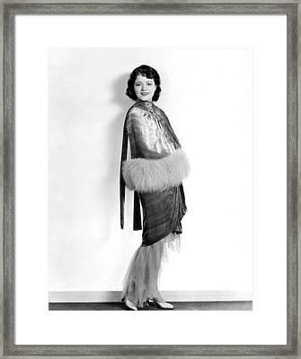 Janet Gaynor, 1929 Framed Print by Everett