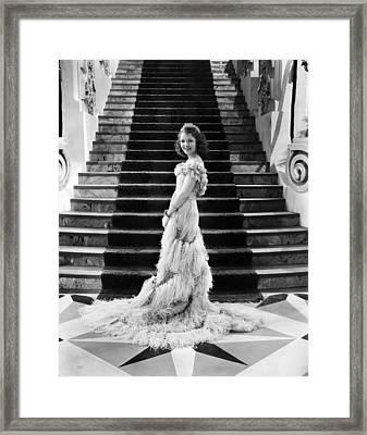 Janet Gaynor, 1933 Framed Print by Everett