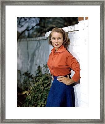 Janet Leigh, 1949 Framed Print by Everett