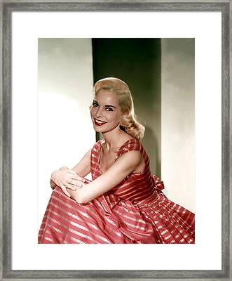 Janet Leigh In The 1950s Framed Print by Everett