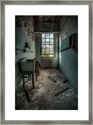 Janitors Closet Framed Print by Gary Heller