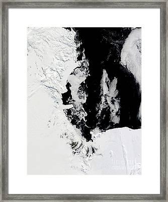 January 18, 2010 - Ross Sea, Antarctica Framed Print