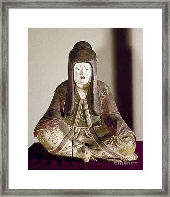 Japan: Statue, 9th Century Framed Print by Granger