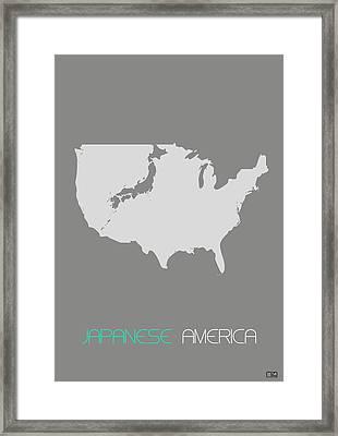 Japanese America Framed Print