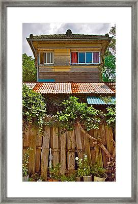 Japanese House Framed Print by Jocelyn Kahawai