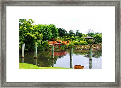 Japanese Reflections Framed Print