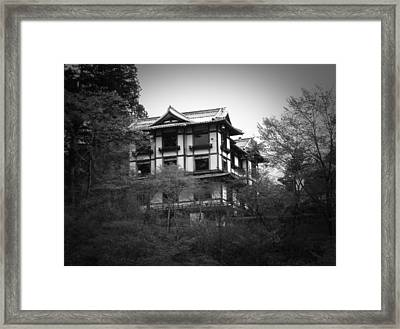 Japanese Traditional House Framed Print by Naxart Studio