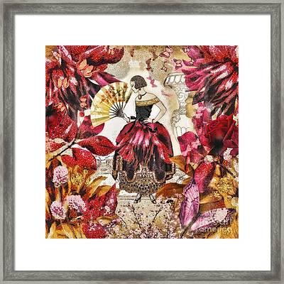 Jardin Des Papillons Framed Print by Mo T
