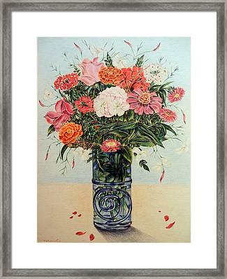 Jasmine Framed Print by HHolly Bazmi