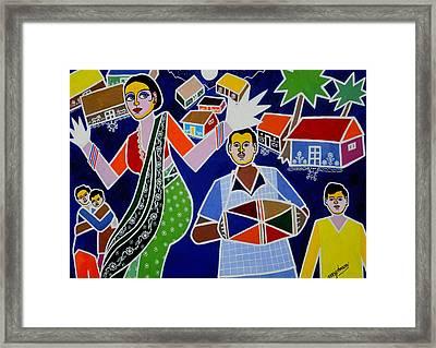 Jatara Framed Print by Johnson Moya