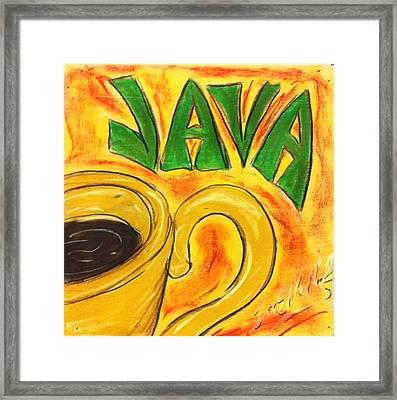 Java Framed Print by Lee Halbrook