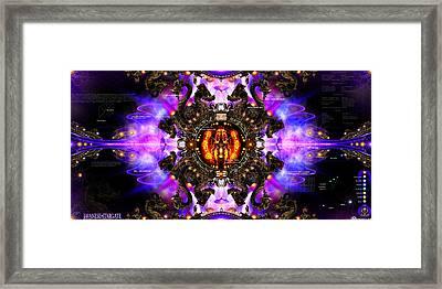 Javanese Stargate Framed Print by Chris Varthalamis