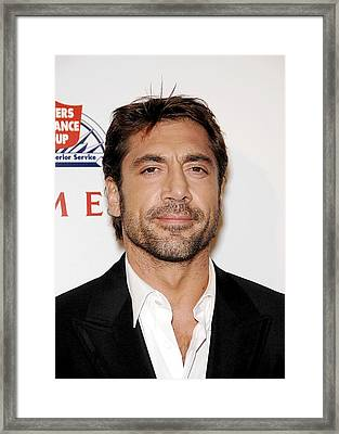 Javier Bardem At Arrivals For Love In Framed Print