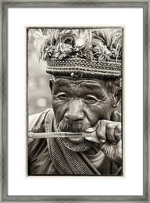 Jaw Harp Framed Print