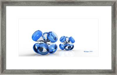 Jax Blue Dof Framed Print