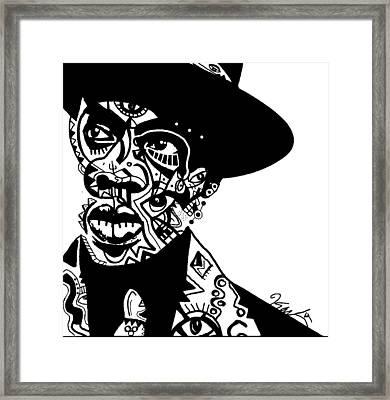 Jay-z Framed Print by Kamoni Khem