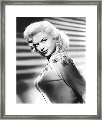 Jayne Mansfield, C. 1957 Framed Print