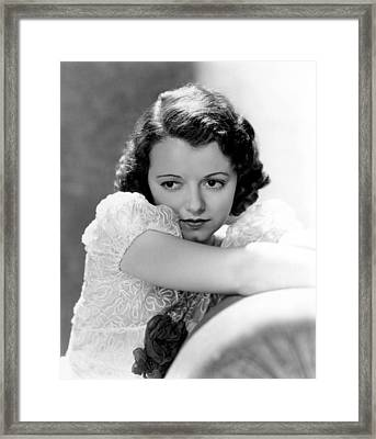 Jaynet Gaynor, Early 1930s Framed Print by Everett