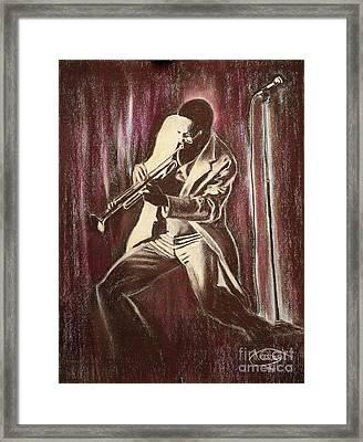 Jazz Framed Print by Anastasis  Anastasi