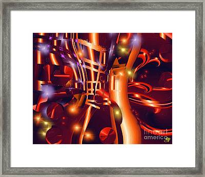 Jazz And Light Framed Print