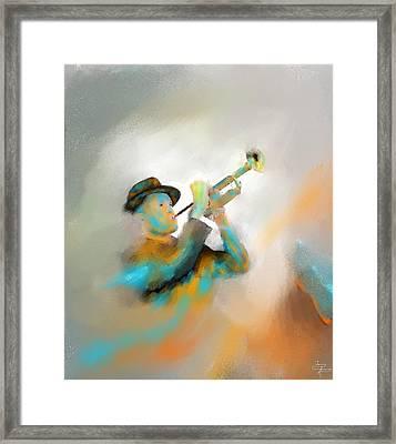 Jazz  Framed Print by Larry Cirigliano