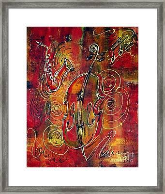 Jazz Framed Print by Greg and Linda Halom