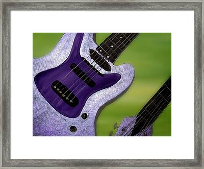 Jazz Framed Print by Mark Moore